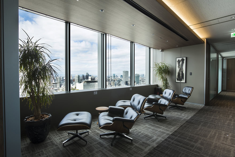 A1インターナショナル品川オフィス内休憩室の写真